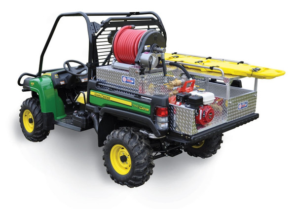 Can Am Defender Firelite® Deluxe Skid Unit Darley-Davey Pump - Poly Water Tank - Hannay Reel & Rescue Area