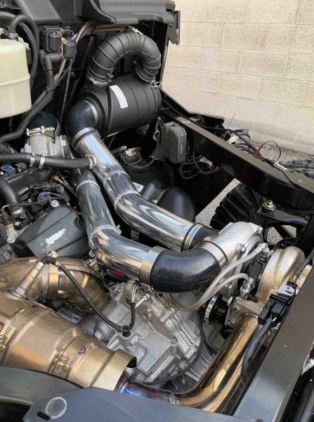 Can Am Defender Turbo System