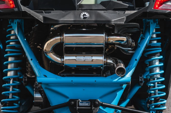 Can Am Maverick X3 Turbo Back Exhaust