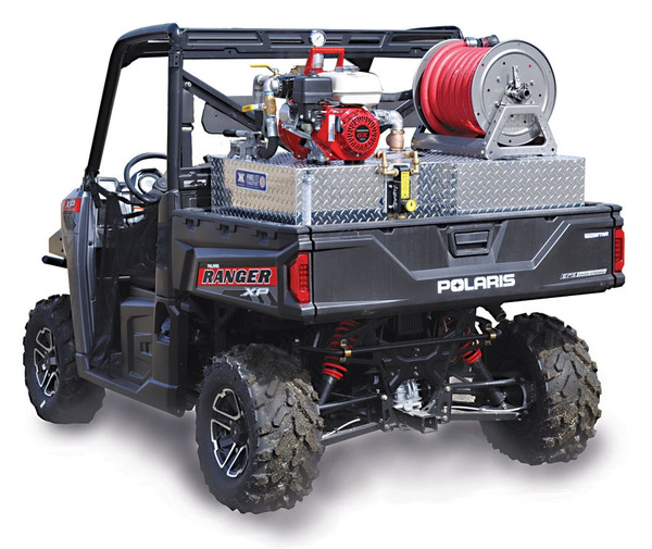 Can Am Defender Firelite® Compact Wildfire Skid Unit Darley-Davey Pump - Poly Water Tank - Hannay Reel