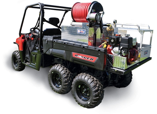 Can Am Defender Firelite® Supermax Transport Skid Unit Darley-Davey Pump - 85 Gal Poly Water Tank / Hannay Reel & Rescue Area