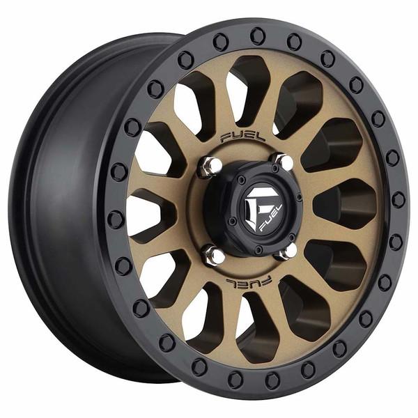 Can Am Maverick Vector D600 Bronze Wheel Set by Fuel Off-Road