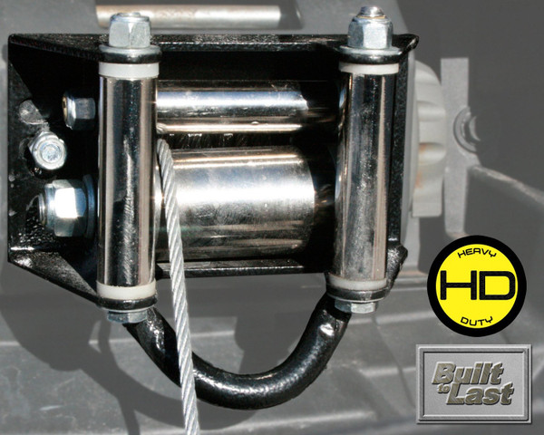 Can Am Pro Series Roller Fairlead With Towing Loop