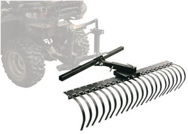"""Can-Am 60"""" Landscape Rake Tool Attachment DirtWorks by Kolpin"""
