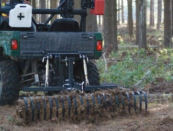 """Can-Am 60"""" Landscape Rake Tool Attachment DirtWorks by Kolpin LSR60"""
