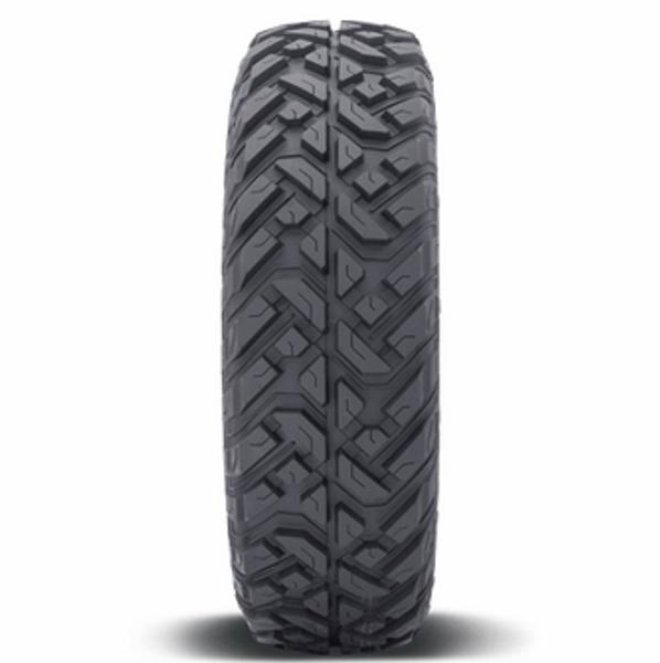 Can Am Fuel Anza D918 Matte Gunmetal Beadlock Wheels with Fuel Gripper T   R   K Tires