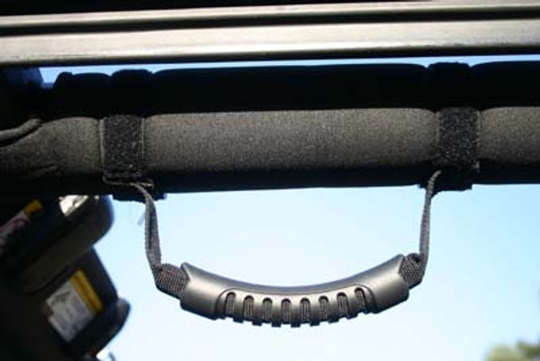 Can Am Maverick Black Entry Assist Handles by Greene Mountain Outdoors