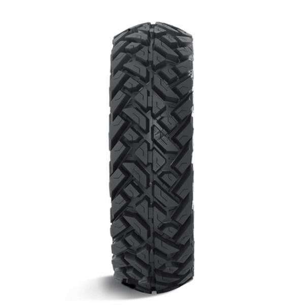 Can Am Anza D558 Matte Gunmetal Wheels with Fuel Gripper Tires