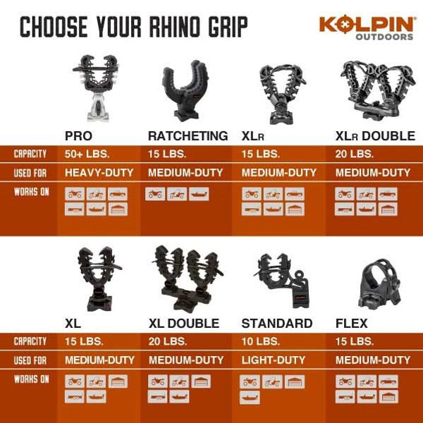 Can Am Rhino Grip Flex 1.5 - Pair