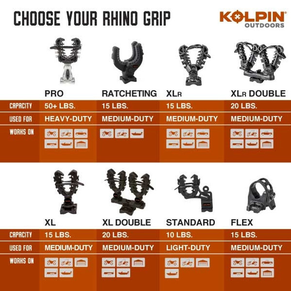 Can Am Rhino Grip Double - Pair