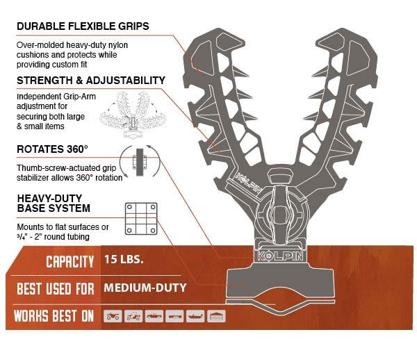 Can Am Rhino Grip XLR - Pair