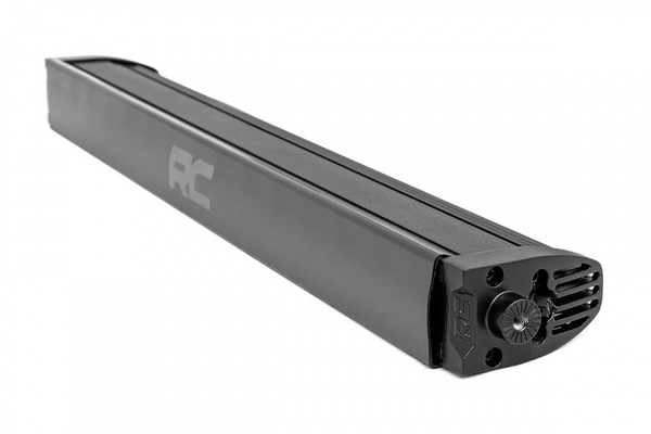 Can-Am 20-inch Cree LED Light Bar - (Single Row   Black Series w/ Cool White DRL)