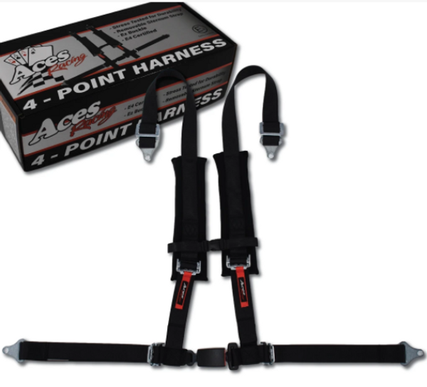 Can Am Maverick/Commander/Defender 4 Point Harness With EZ- Buckle by Aces Racing