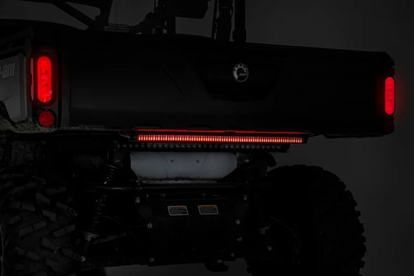 Can-Am 30-inch UTV Premium Quad-Row Multi-Function LED Tailgate Light Strip by Rough Country