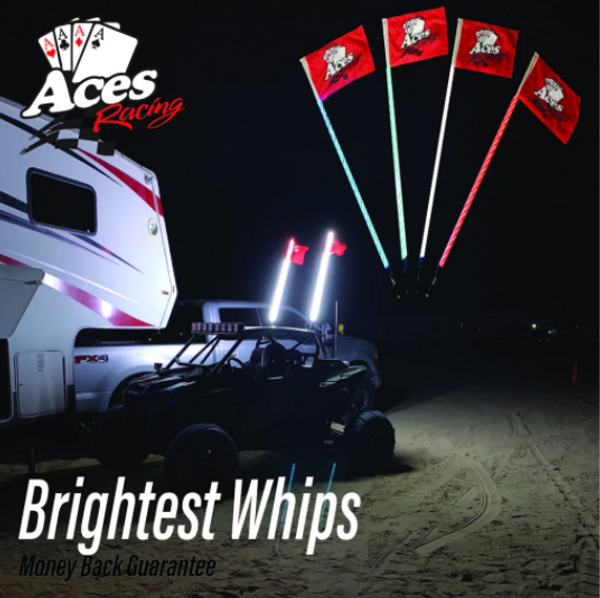 Can Am (Bluetooth) Deluxe Lighted Whips