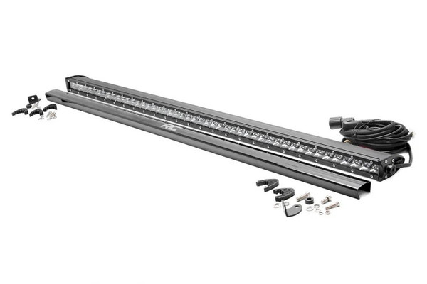Can-Am 50-inch Straight Cree LED Light Bar (Single Row   Chrome Series) by Rough Country