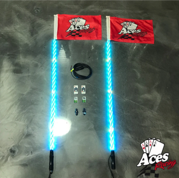 Can Am 200 Combination Deluxe Lighted Whips