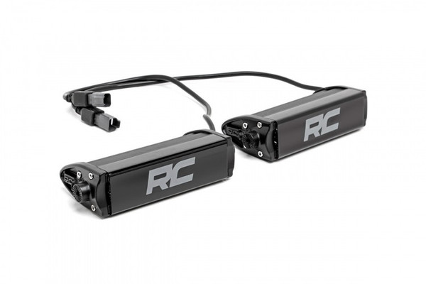 Can-Am 6-inch Cree LED Light Bars (Pair | Black Series)