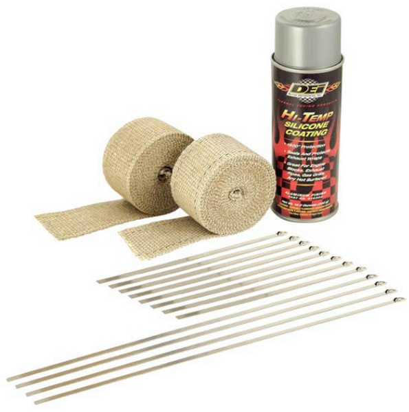 Can Am Offroad Exhaust Wrap Kits by Design Engineering