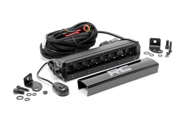 Can-Am 8-inch Cree LED Light Bar (Black Series) by Rough Country