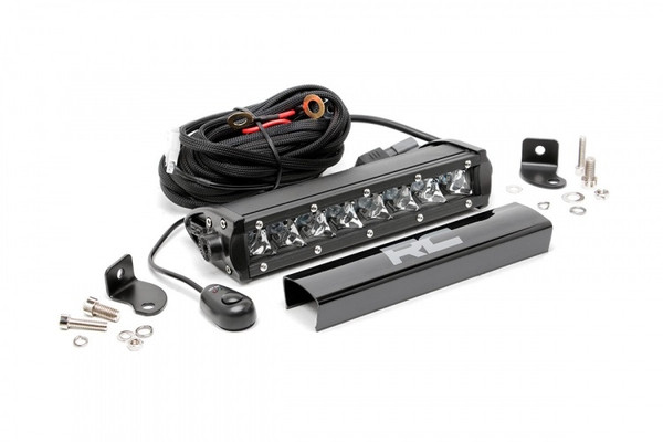 Can-Am 8-inch Cree LED Light Bar (Chrome Series) by Rough Country