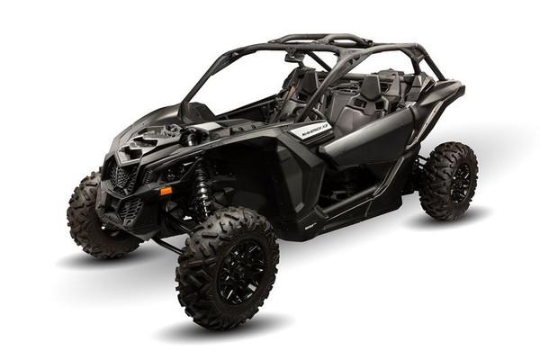 Can am Maverick X3 / X3 Max Front Fenders Black