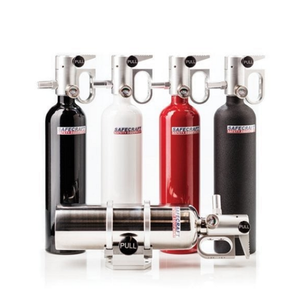 Can Am Offroad PB2 Handheld Portable Extinguishes Fires Either by Safecraft