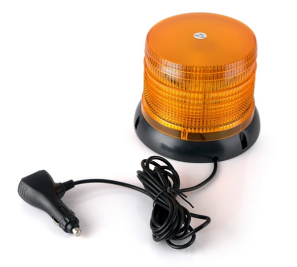 """Can Am 6"""" Amber Revolving 12 LED 36W Beacon Light"""