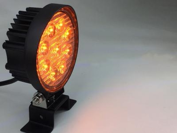 Can Am Commander 4 Inch Work Light 27 Watt Amber Spot Fracture Series