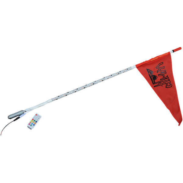 Can-Am 3' White Deluxe Light Rod Whips