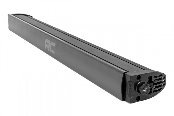 Can-Am 30-inch Cree LED Light Bar - (Single Row   Black Series w/ Cool White DRL)