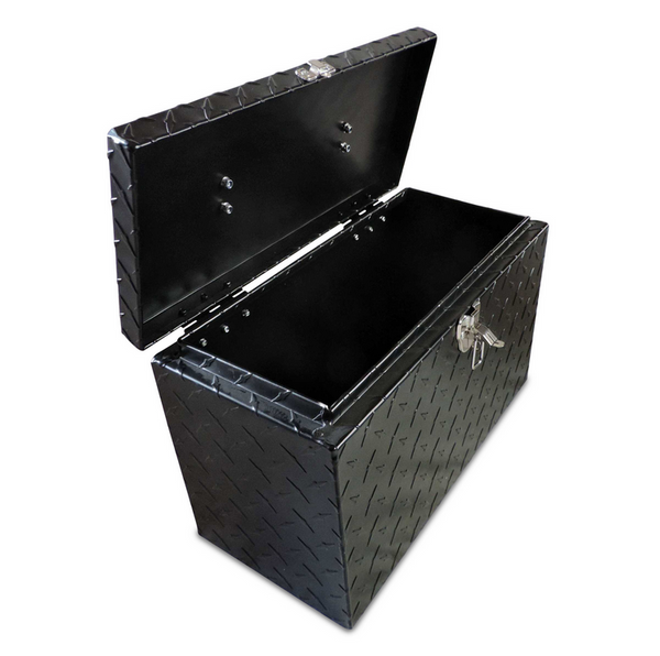"""Can Am Offroad Diamond Plate Aluminum Tool Box 16"""" by Hornet Outdoors"""