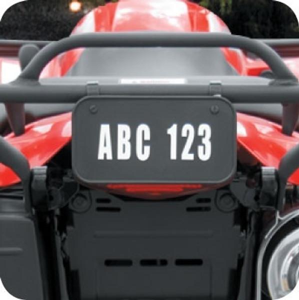 "Can-Am ATV License Plate Kit™ ""PVC"""