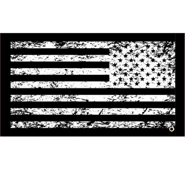 Can Am Tattered USA UTV Whip Flag by Dragonfire Racing