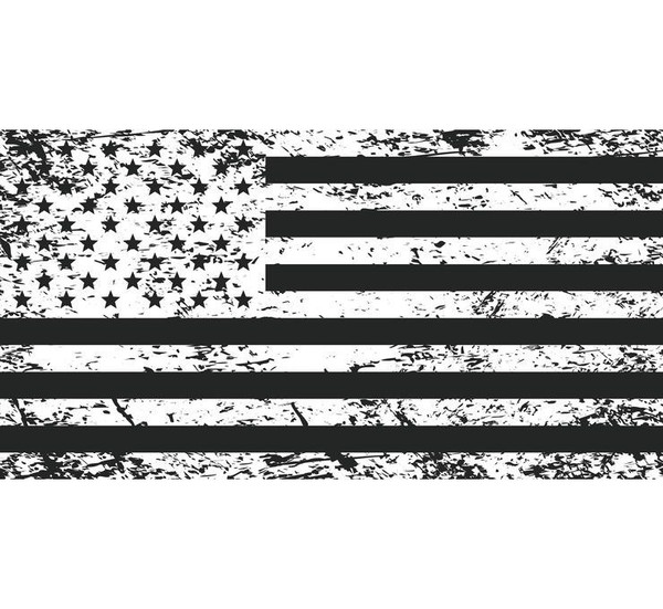Can Am Tatterd American UTV Whip Flag by Dragonfire Racing