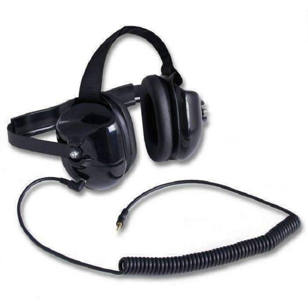 Can Am Behind the Head Listen Black Headset by Rugged Radios
