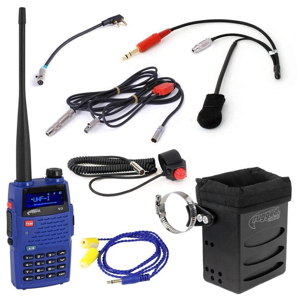 Can Am The Driver 3C Racing Kit with Rugged V3 Handheld by Rugged Radios