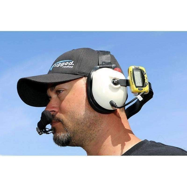 Can Am Headset to Scanner (Nitro Bee) Straight Cord - Short by Rugged Radios
