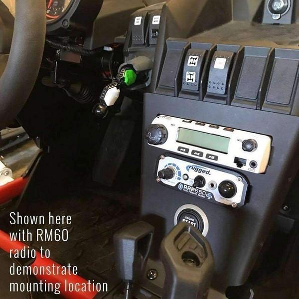 Can Am Can-Am X3 Mount for GMR25 Radio & Intercom by Rugged Radios