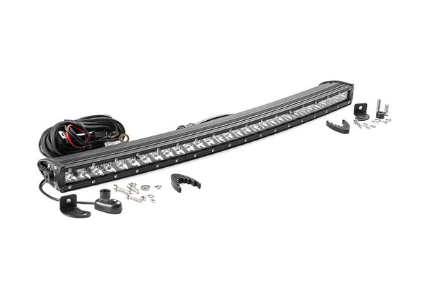 Can Am 30-Inch Curved Cree Led Light Bar - (Single Row | Chrome Series) by Rough Country