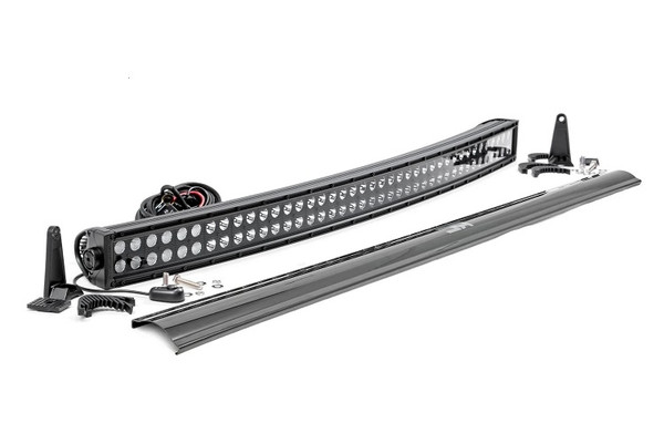 Can Am 40-Inch Curved Cree Led Light Bar - (Dual Row | Black Series) by Rough Country