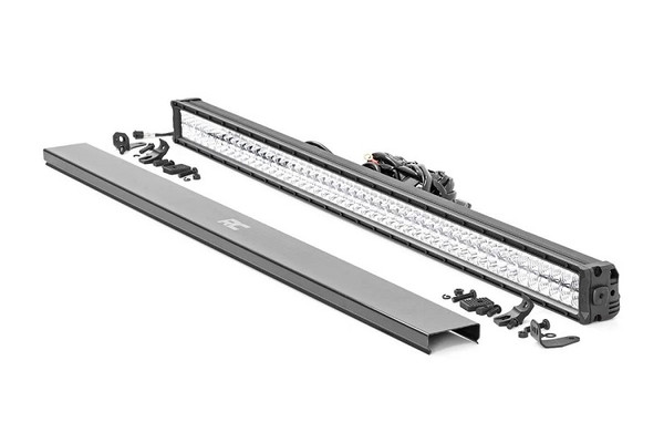 Can Am 50-Inch Cree Led Light Bar - (Dual Row | Chrome Series W/ Amber Drl) by Rough Country