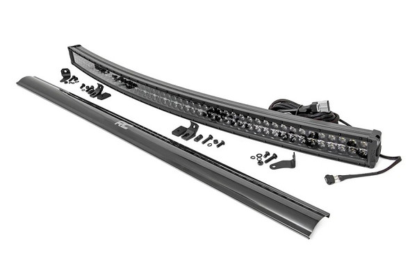 Can Am 54-Inch Curved Cree Led Light Bar - (Dual Row | Black Series W/ Cool White Drl)) by Rough Country