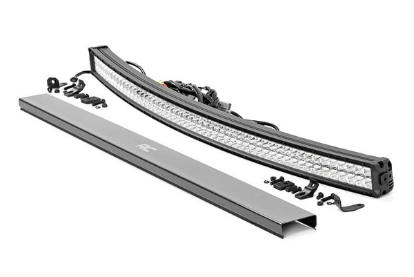 Can Am 54-Inch Curved Cree Led Light Bar - (Dual Row | Chrome Series W/ Cool White Drl) by Rough Country