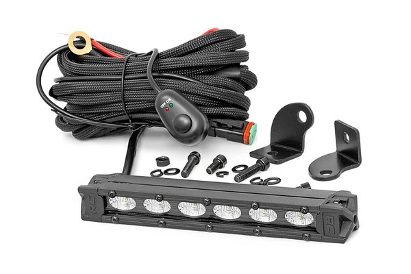 Can Am 6-Inch Slimline Cree Led Light Bar (Black Series) by Rough Country