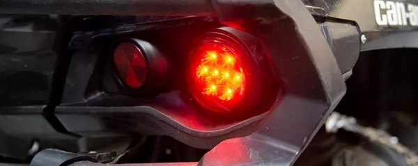 Can-Am Commander / Maverick (non-X3) Rear LED Taillight Lens by Quad Logic