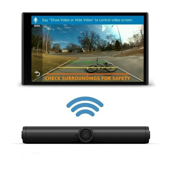 Can-Am Commander / Maverick / Defender BC™ 40 Wireless Backup Camera With License Plate Mount by Garmin
