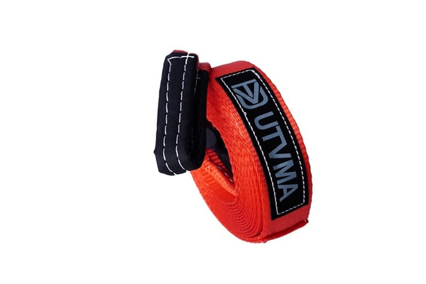 Can Am Recovery Tow Strap by UTV Mountain