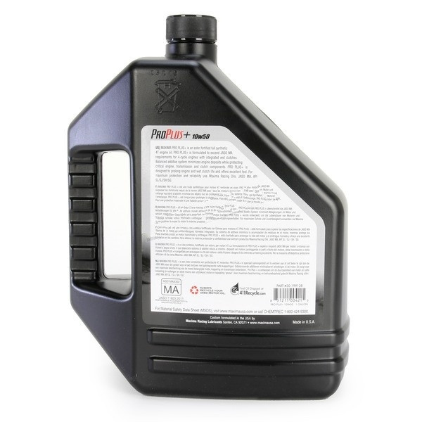 Can-Am 1 Gallon 10W50 Pro Plus Synthetic Engine Oil by Maxima