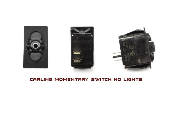 Can-Am Commander / Maverick / Defender On-Off SPST Momentary Carling Rocker Switch with No Lights by XTC Power Products